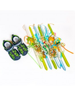 BLUE/GREEN SANDALS CHICCO