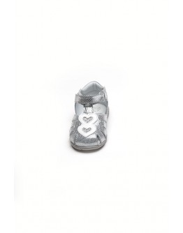 SILVER SANDALS CHICCO