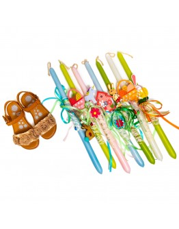 CHICCO SANDALS WITH FLOWERS