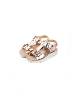 SANDALS GOLD ROSE METALL LELLI KELLY