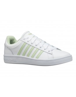 FEMALE SNEAKERS K-SWISS WHITE/GREEN