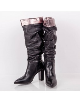 BOOTS HIGH LENGTH CAFENOIR