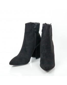 BLACK BOOTIES SUEDE AZAREY