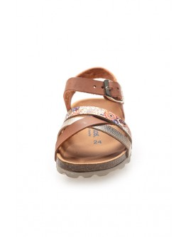 Girl's Multi Metallized Bio Sandals