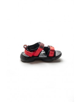 RED SANDALS FOR BOYS BULL BOYS