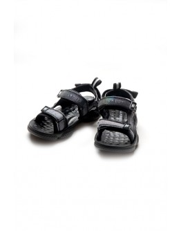 BLACK SANDALS FOR BOYS BULL BOYS