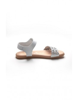 Oh! My Sandals WHITE & NUDE COLOR