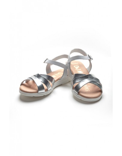SILVER SANDALS Oh! My Sandals