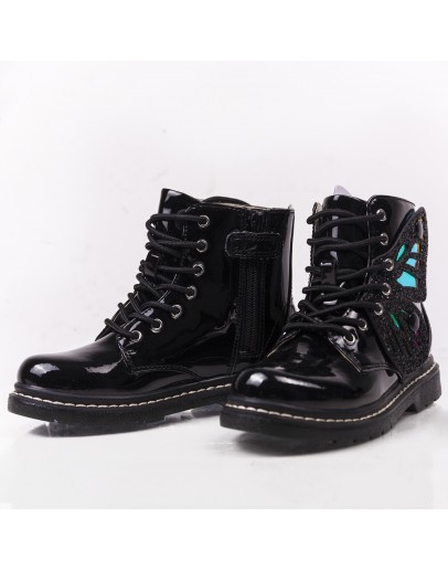 Patent Leather Lelli Kelly Booties