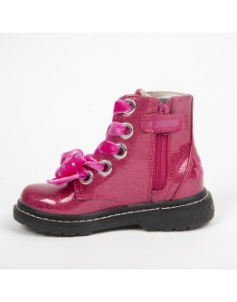 Lelli Kelly Fuxia Glitter Booties
