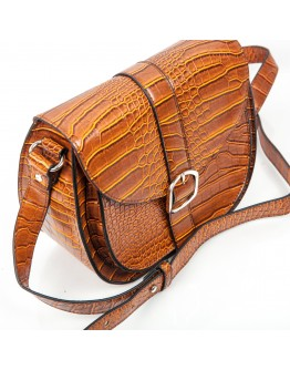 LEATHER CROCO BAG AZAREY